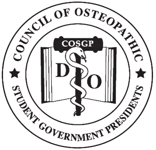 Council of Osteopathic Student Government Presidents Seal