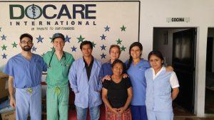 The April 2016 ASSADE Clinic team